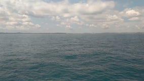 The Horizon in the ocean