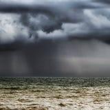 Horizon orageux Images libres de droits