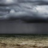 Horizon orageux Images stock