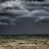 Horizon orageux Photo libre de droits