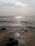 Horizon over Atlantic Ocean Stock Photography