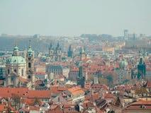Horizon over Praag Stock Fotografie