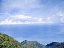 Horizon. Over the sea landscape Stock Photography