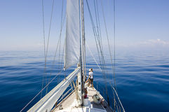 Free Horizon Over The Deck Stock Image - 2346011