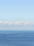 Horizon over water Royalty Free Stock Image