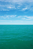 Horizon and Pacific Ocean Royalty Free Stock Photo