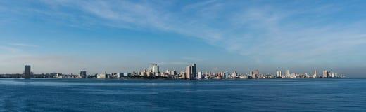 Horizon panoramique de la Havane image stock