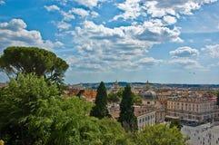 Horizon romain Photographie stock
