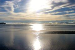 Horizon sans fin Images libres de droits