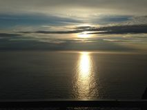 Horizon, Sky, Sea, Calm royalty free stock photography