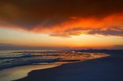 Horizon, Sky, Sunset, Sea royalty free stock images