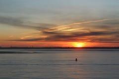 Horizon, Sky, Sunset, Sunrise royalty free stock photography