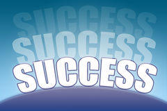 Horizon of success Royalty Free Stock Photos