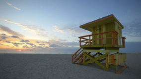 Horizon Timelapse de Miami banque de vidéos
