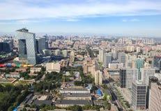 Horizon urbain de Pékin, Chine photos libres de droits