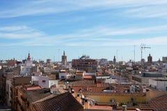 Horizon Valencian Photo stock