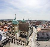 Horizon van Augsburg Royalty-vrije Stock Afbeelding