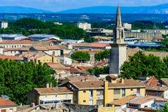 Horizon van Avignon royalty-vrije stock foto