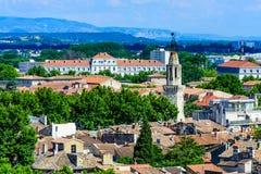 Horizon van Avignon stock fotografie