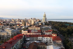 Horizon van Batumi Royalty-vrije Stock Fotografie