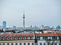 Horizon van Berlijn stock afbeeldingen