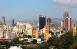 : Horizon van Caracas van de binnenstad - Venezuela royalty-vrije stock foto's