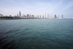 Horizon van Chicago SoC04 royalty-vrije stock fotografie