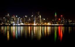 Horizon van de Stad van New York Stock Fotografie