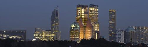 Horizon van Den Haag Royalty-vrije Stock Foto