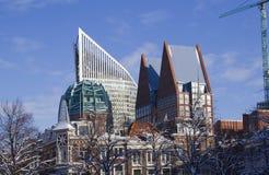 Horizon van Den Haag, Holland stock fotografie