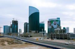 Horizon van Doubai Stock Foto's