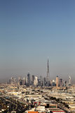 Horizon van Doubai Royalty-vrije Stock Fotografie