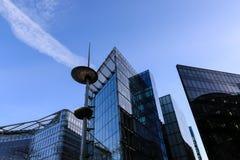 Horizon van gebouwen Stock Afbeelding