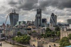 Horizon 3 van Londen Royalty-vrije Stock Foto's