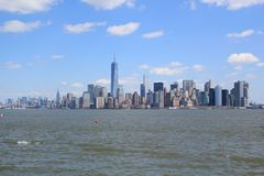 Horizon van New York Royalty-vrije Stock Foto's