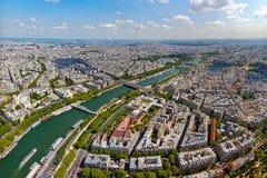 Horizon van Parijs Stock Afbeeldingen