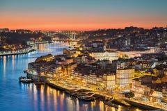 Horizon van Porto, Portugal stock fotografie