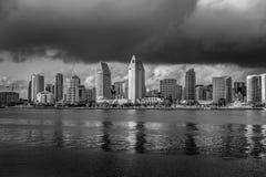 Horizon van San Diego op een zonnige dag royalty-vrije stock foto