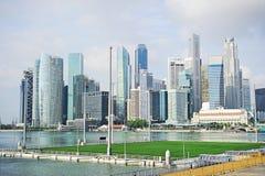 Horizon van Singapore stock foto's