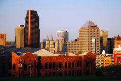 Horizon van St Paul Minnesota Royalty-vrije Stock Foto's