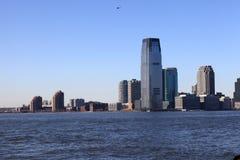 Horizon van Stad de Van de binnenstad van Jersey Stock Foto