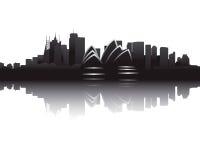 Horizon van Sydney Royalty-vrije Stock Foto's