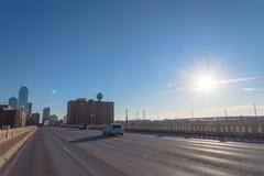Horizons de Dallas Downtown photographie stock libre de droits