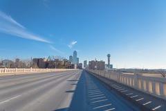 Horizons de Dallas Downtown photo stock