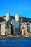 Horizons de Hong Kong photos libres de droits