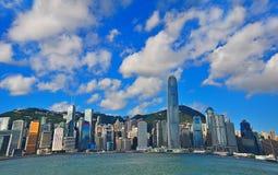 Horizons de Hong Kong Photographie stock