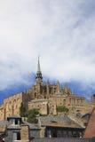 Horizons de Saint Michel Images libres de droits