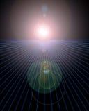 Horizont vektor abbildung
