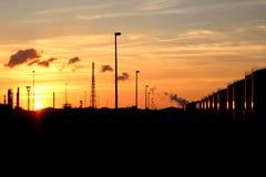 Horizont auf Feuer lizenzfreies stockfoto