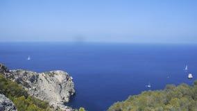 Horizont del mare Fotografie Stock